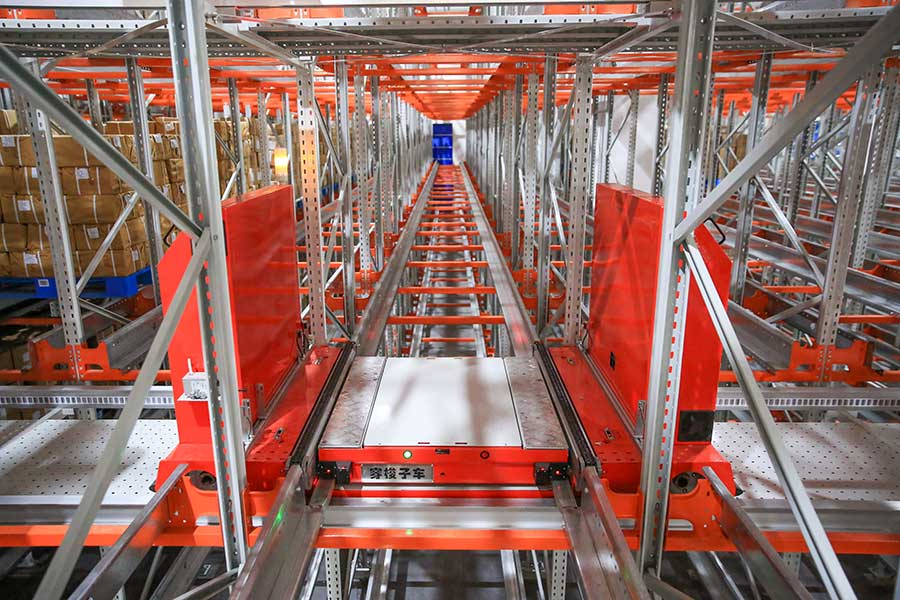 凤凰出版传媒集团-高密度自动化存储系统
